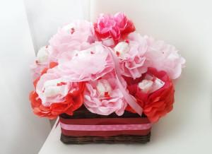 букет из конфет для девушки