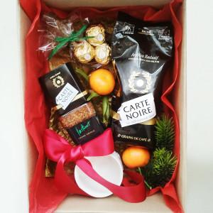 подарочный набор кофейный, новый год, подарок