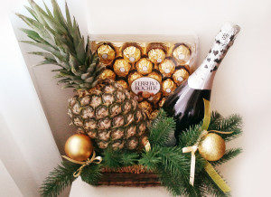 подарочная корзина, подарки на новый год, новый год, доставка