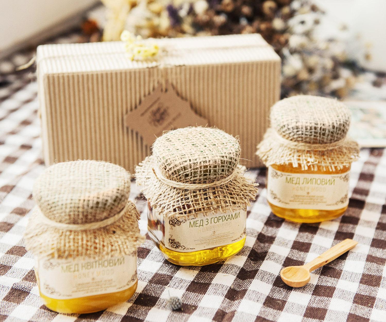 Подарок мед и