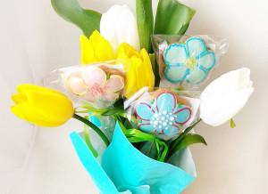 Подарок на 8 марта расписные пряники