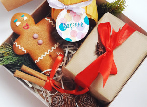подарочный набор с вареньем , подарки на Новый год, сладкие подарки на Новый год