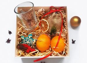 Подарки на Новый год, Новогодний глинтвейн, подарочный набор глинтвейн