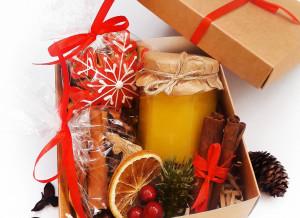 Подарочный набор для глинтвейна на Новый год