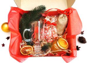 Подарочный набор для глинтвейна на Новый год, новогодний подарочный набор для глинтвейна
