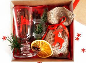 Подарочный набор для глинтвейна, подарочный набор на Новый год, доставка по Украине, доставка по Киеву