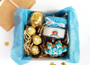Подарочный набор с вареньем, подарочный набор на новый год, подарочный набор на 8 марта