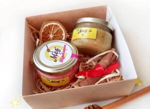 Подарочный набор с медом, корпоративныне подарки с медом