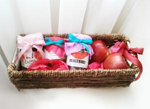 подарочная корзина для девушки