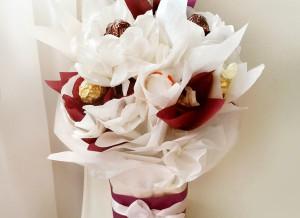 букет из конфет, сладкий букет, сладкий подарок