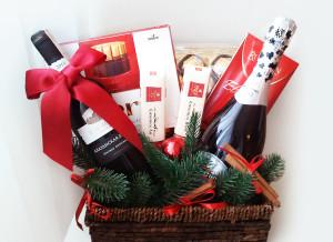 подарочная корзина, подарки, новый год, подарки на новый год