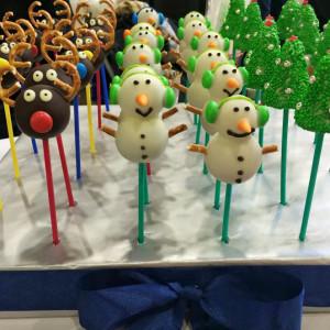 кейк-попсы,сладкие подарки, кейди-бар