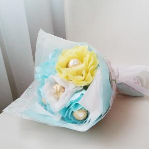 букет из конфет, сладкий подарок, оригинальный подарок