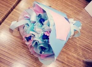 букет из конфет сладкий подарок, подарки, сладкие подарки, подарки женщинам, подарок девушке
