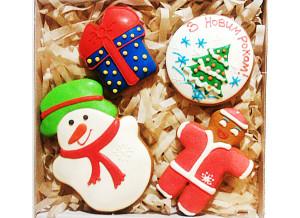 Подарочные наборы Новый год, подарки, сладкие подарки, корпоративные подарки, пряники