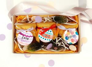 подарочный набор с вареньем, новогодний подарочный наборы, сладкие подарки