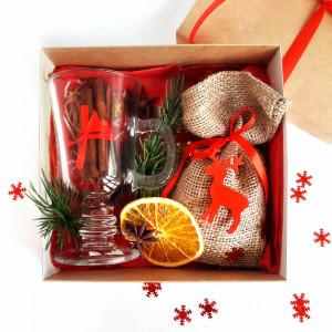 Подарочный набор для глинтвейна, подарочный набор на Новый год, доставка по Украине, доставка по Киеву, корпоративный подарочный набор на Новый год, новогодний подарочный набор для глинтвейна