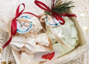 подарочный набор с маршмеллоу, подарочный набор на новый год