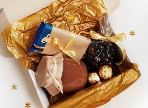 подарочный набор с шоколадом, подарочный набор с шоколадом на новый год
